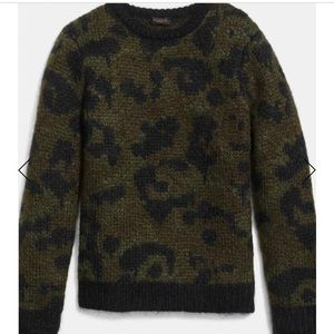 Coach crew neck sweater